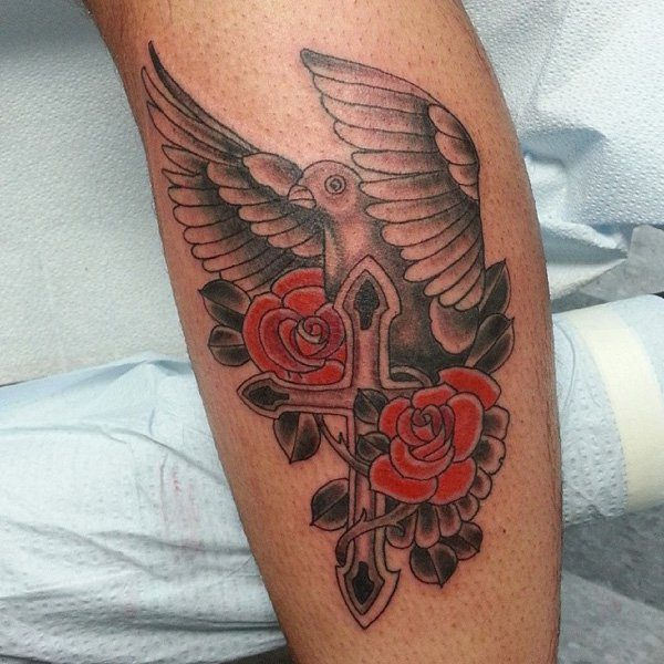 Dove tattoos for men ideas and inspirations for guys for Higher ground tattoo