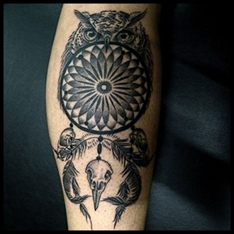 Dreamcatcher Tattoo Ideas for men