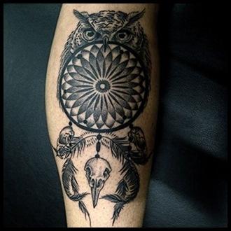 Dreamcatcher Tattoo Ideas for men