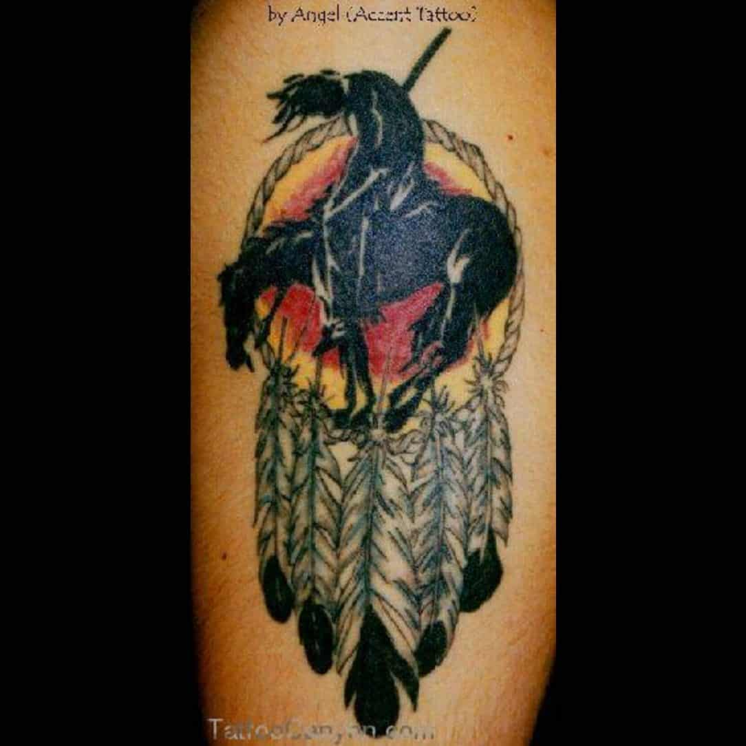 dreamcatcher tattoos for men ideas and inspirations for guys. Black Bedroom Furniture Sets. Home Design Ideas
