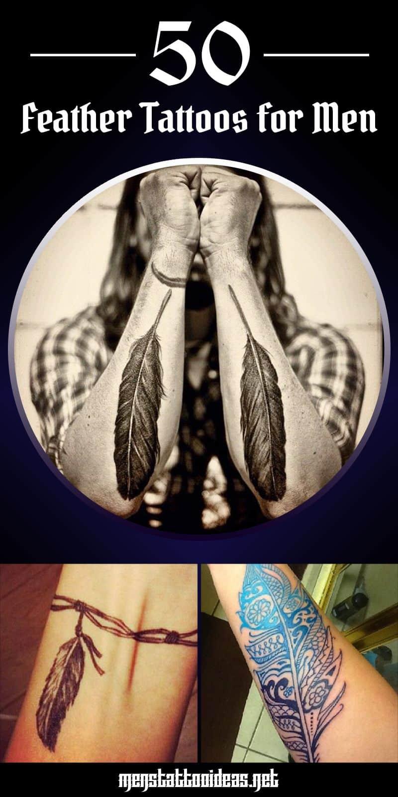 Feather tattoo ideas