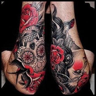 Flower Tattoo Ideas for men