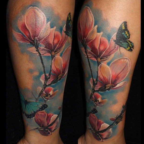 flower tattoos for men ideas and inspiration for guys. Black Bedroom Furniture Sets. Home Design Ideas