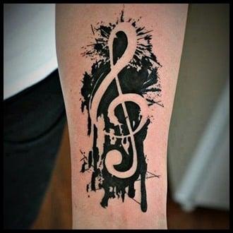 Music Tattoo Ideas for Guys