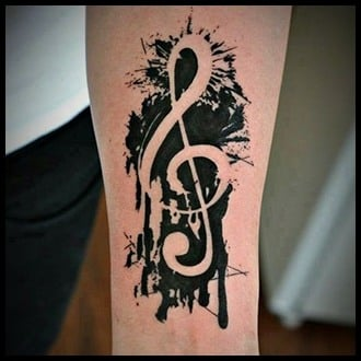 Music Tattoo Ideas for Guys