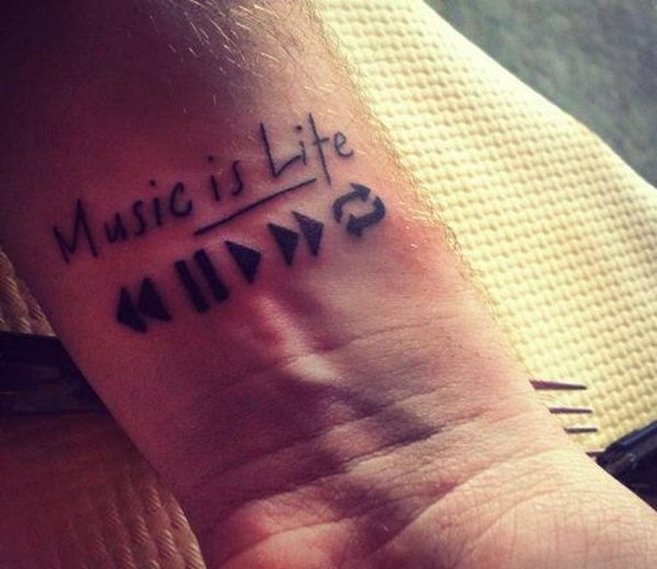 Tattoo Quotes Music: Ideas And Inspiration For Guys