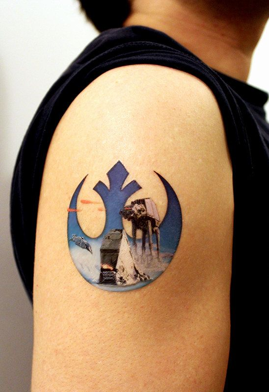 Star Wars Tattoos For Men Best Designs And Ideas Guys
