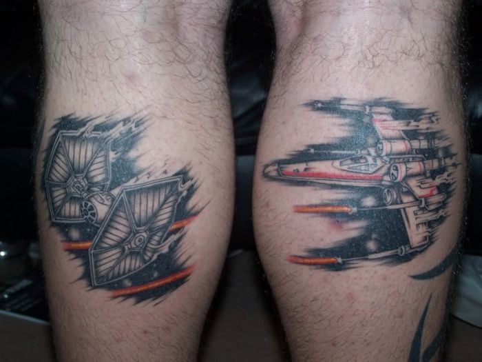 105e20525 Star Wars Tattoos for Men - Best Designs and Ideas for Guys
