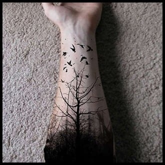 Tree Tattoo Ideas for Guys