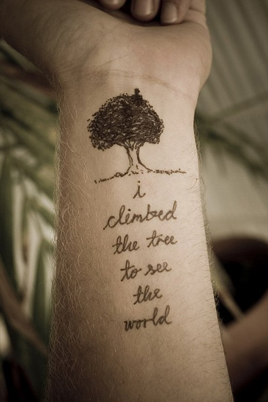 Tree tattoos for men ideas and designs for guys for Not of this world tattoo