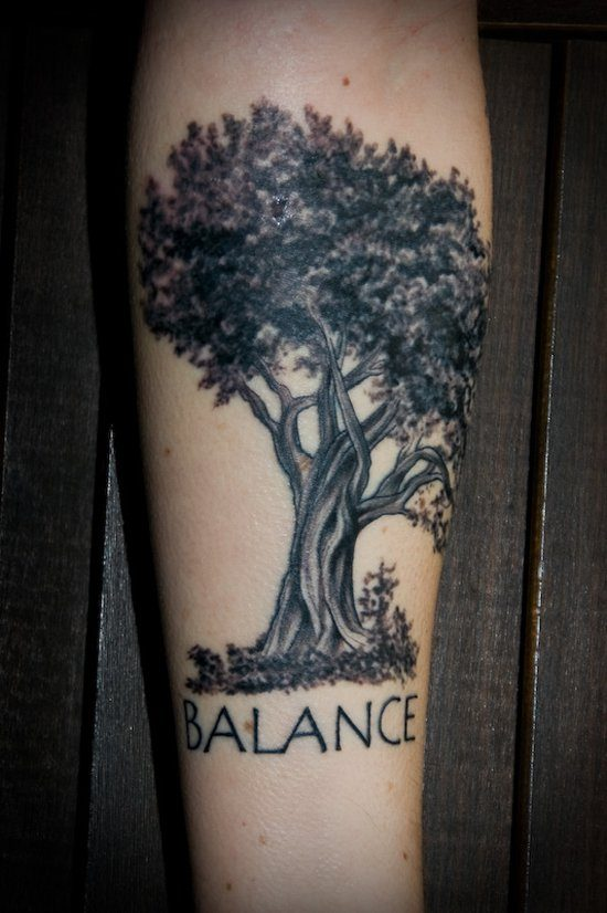 Oak Tree With Roots Tattoo: Ideas And Designs For Guys