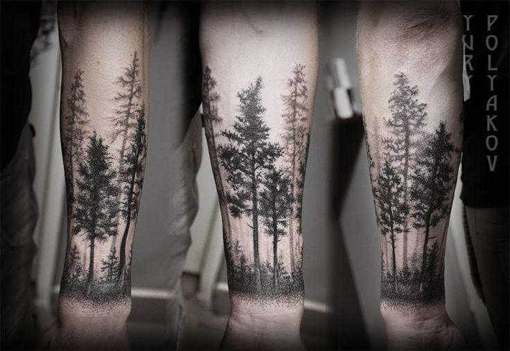 150+ Splendid Tree Tattoos That\'ll Make You Grow Stronger ⋆ TattooZZa