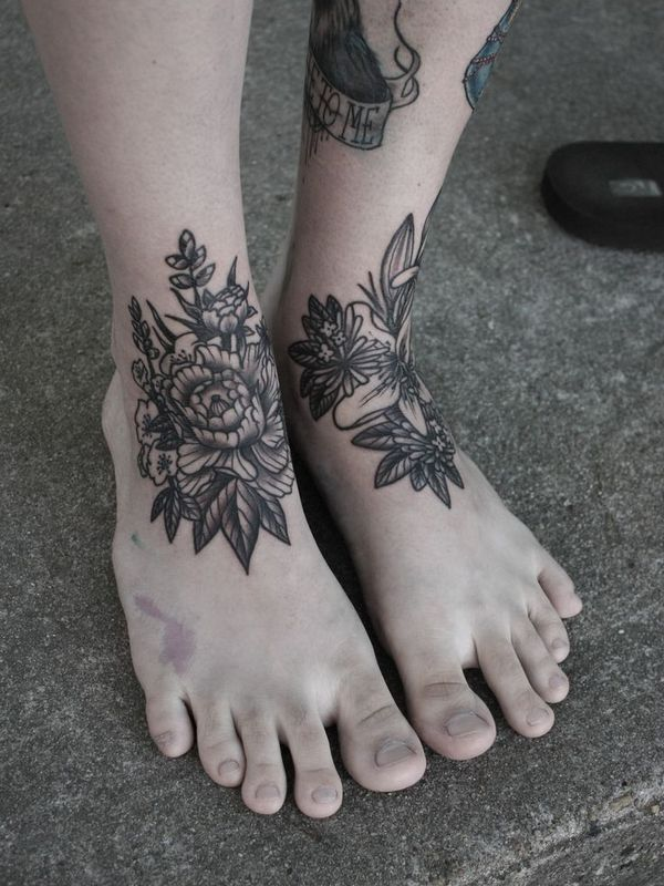 Ankle tattoos for men ideas and designs for guys for Mens foot tattoos