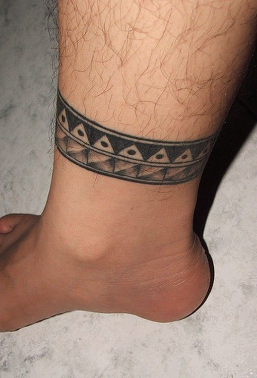 Ankle tattoos for men ideas and designs for guys for Ankle tattoos for guys