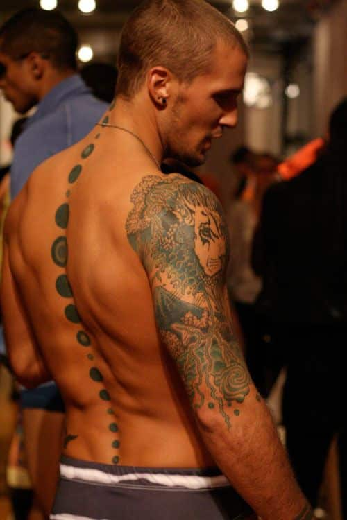 Spine Tattoos For Men  Ideas And Designs Guys