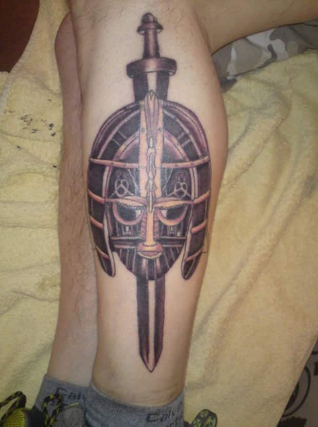 weapon tattoos for men ideas and inspiration for guys