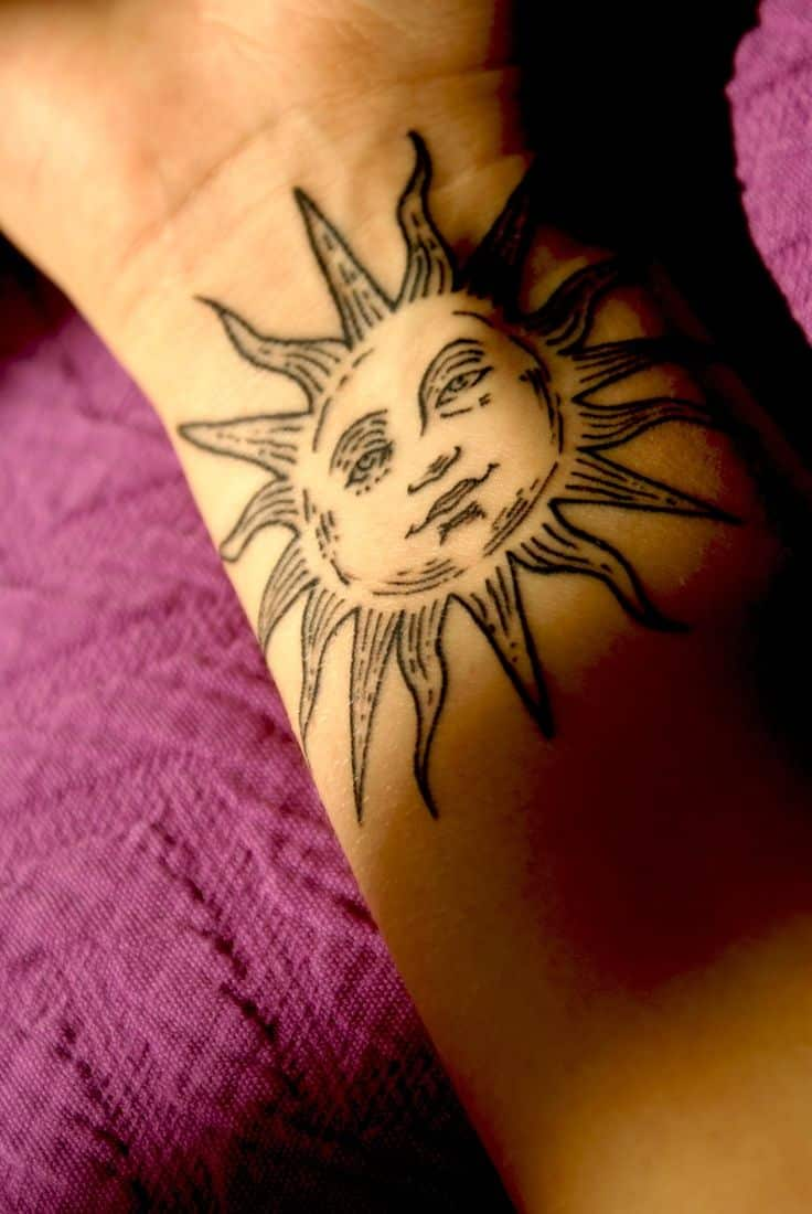 Sun and moon tattoos for men ideas and designs for Tattoos for me