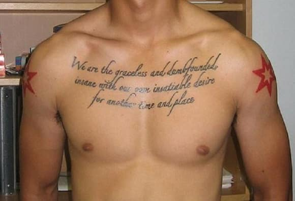 Best Tattoo Quotes About Life Mesmerizing Tattoo Quotes For Men  Ideas And Designs For Guys