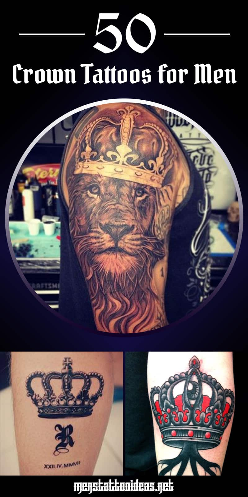Crown tattoo ideas