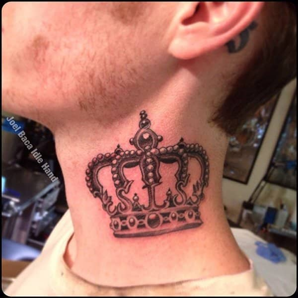 Crown tattoos for men design ideas for guys for Crown chest tattoo
