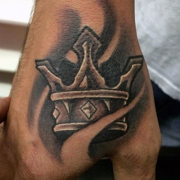 Crown tattoos for men design ideas for guys for Pictures of crown tattoos