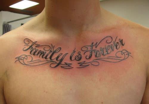 Family Tattoos for Men...