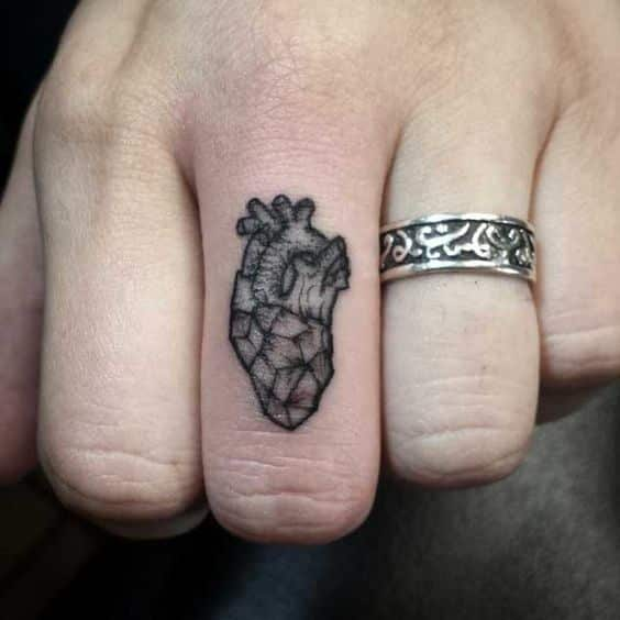 Finger Tattoos for Men - Design Ideas for Guys