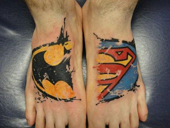 foot tattoos for design ideas for guys