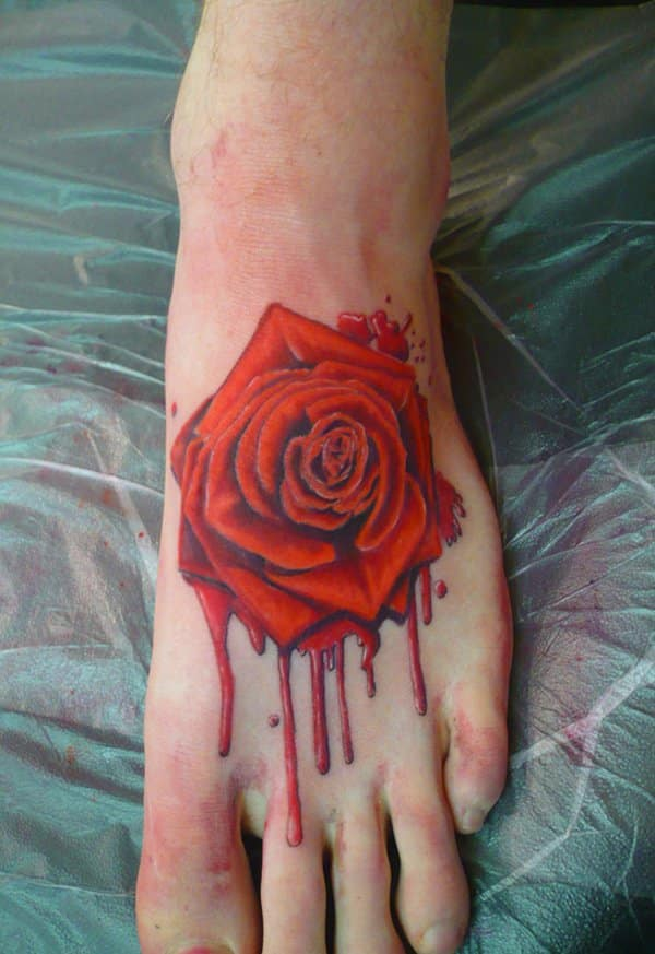 foot tattoos for men design ideas for guys. Black Bedroom Furniture Sets. Home Design Ideas