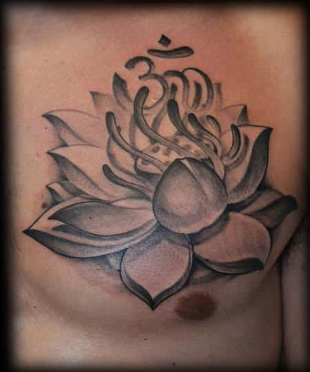Lotus flower tattoos for men ideas and inspiration for guys lotus flower tattoos 08 mightylinksfo