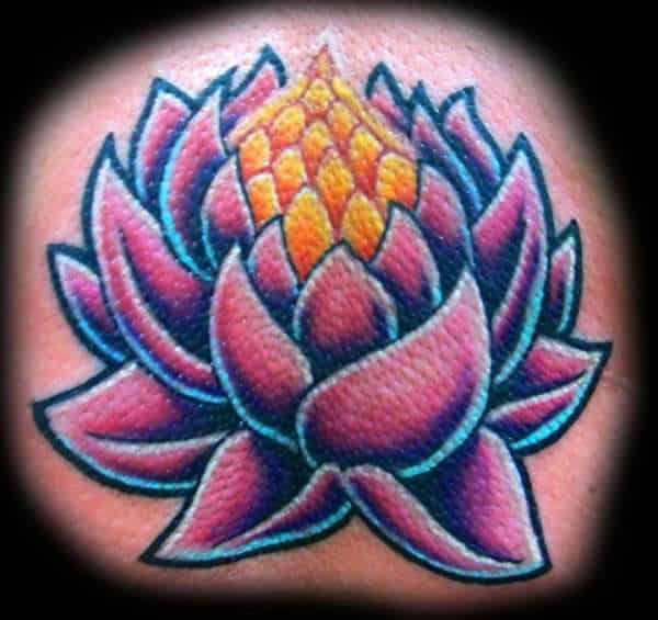 Lotus Flower Tattoos for Men - Ideas and Inspiration for Guys