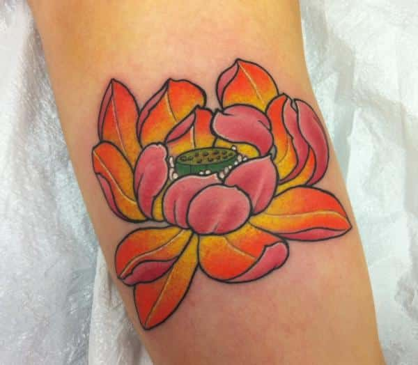 Lotus Flower Tattoos For Men  Ideas And Inspiration Guys