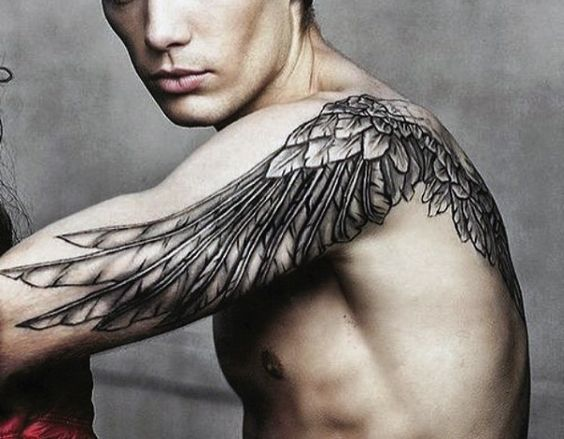 Chest Tattoo Wings Man Www Picswe Com
