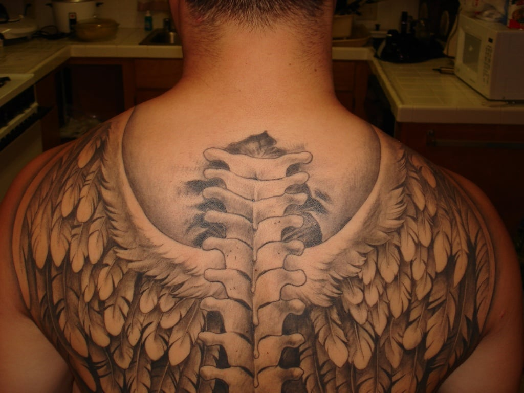 Angel wing tattoos for men ideas and inspiration for guys for Pictures of tattoos