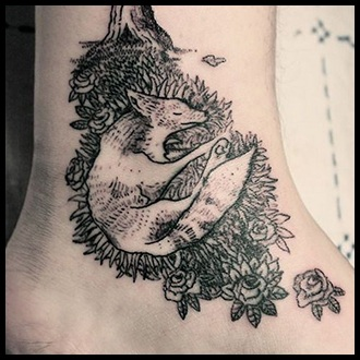Ankle Tattoo Ideas for Guys
