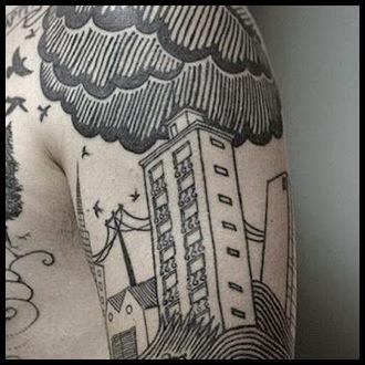 Cloud Tattoo Ideas for Guys
