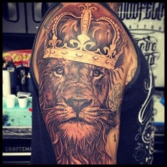 Crown Tattoo Ideas for men