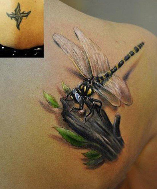 Dragonfly Tattoos For Men  Ideas And Inspiration Guys
