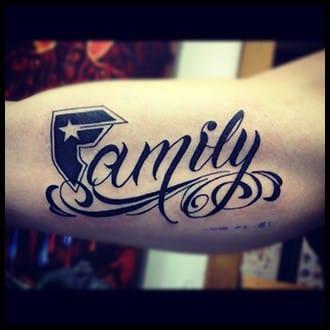 Family Tattoo Ideas for Guys