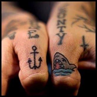 Finger Tattoo Ideas for Guys