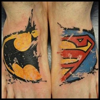 Foot Tattoo Ideas for Guys