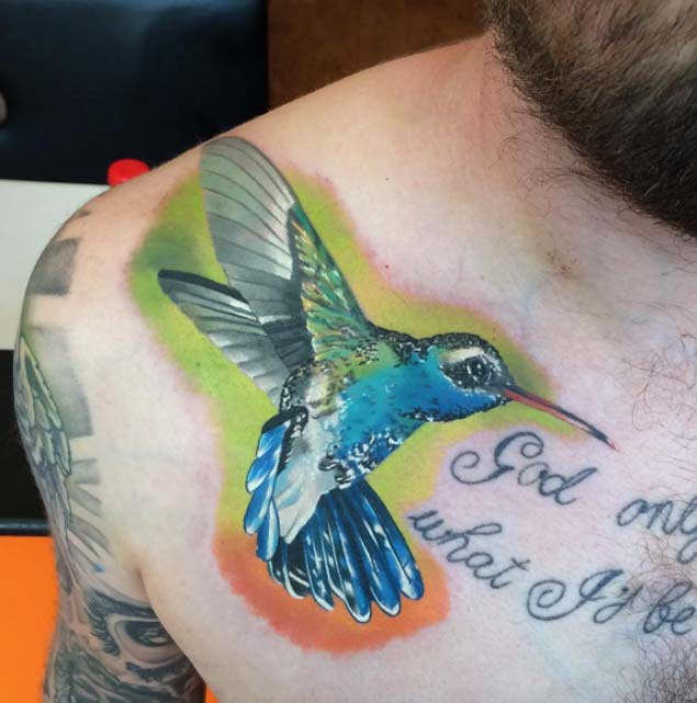 27 Hummingbird Tattoo Designs Ideas: Ideas And Inspiration For Guys