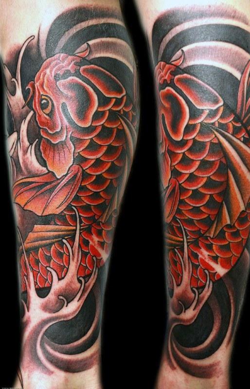 Koi Fish Tattoos For Men  Ideas And Inspiration Guys