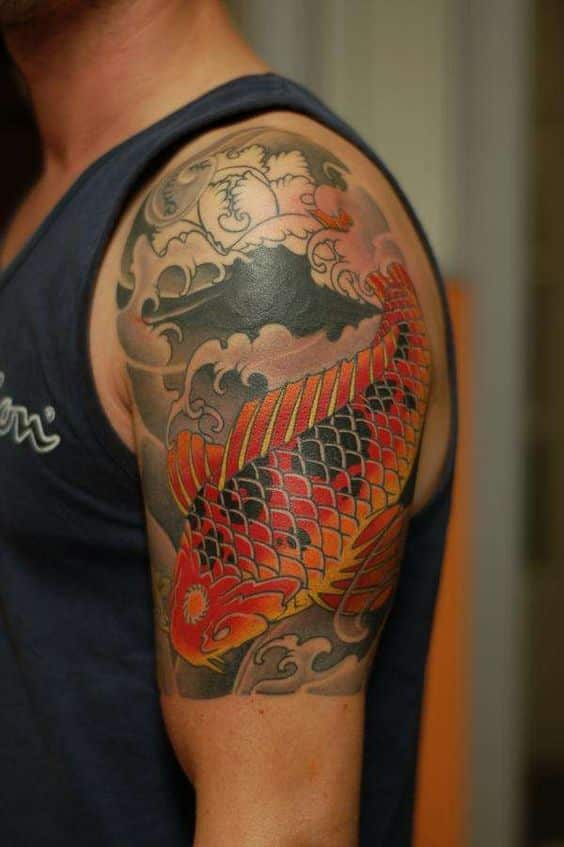 Koi Fish Tattoos for M...