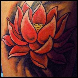 Lotus Flower Tattoo Ideas for men