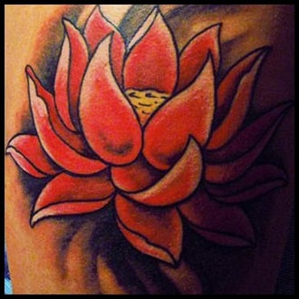 Lotus Flower Tattoo Ideas for men