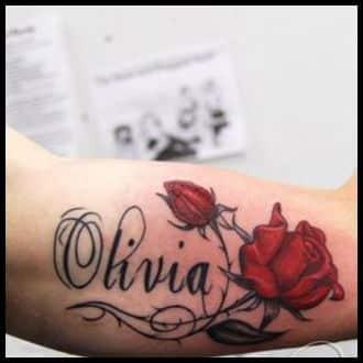 Name Tattoo Ideas for men