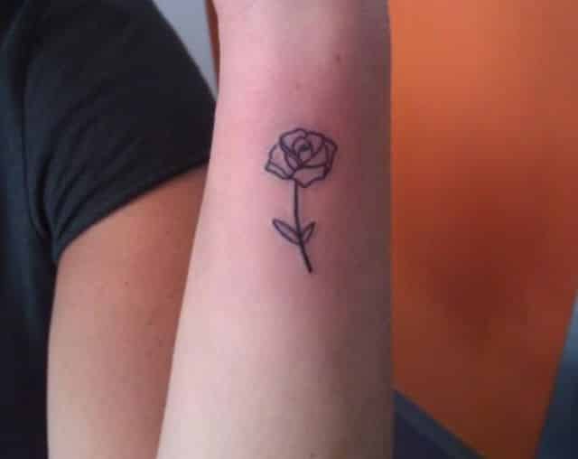 Tattoo Simple Rose: Ideas And Inspiration For Guys