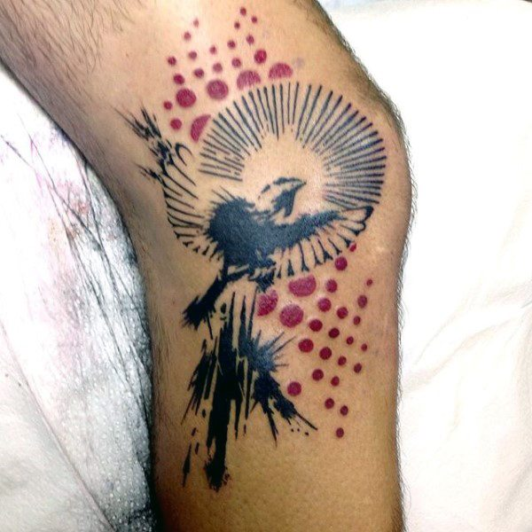 Sparrow tattoo for men - photo#41