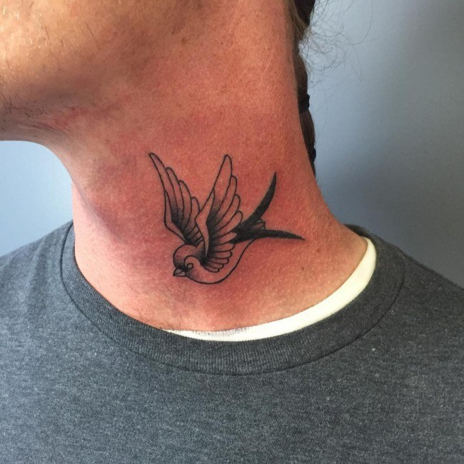 Sparrow tattoo for men - photo#9